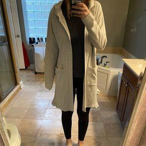 SUPER COMFY gray cardigan